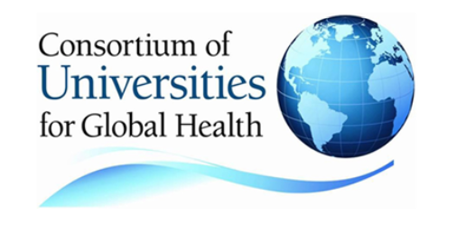 Logo for the Consortium of Universities for Global Health